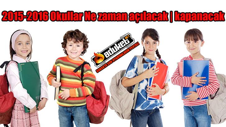 2015-2016 Yarıyıl Sömestr Tatili Ne Zaman?