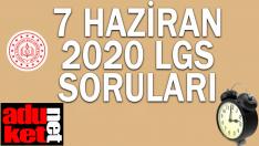 2020 LGS Soruları indir