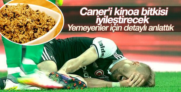 Caner Erkin Kinoa ile iyileşecek