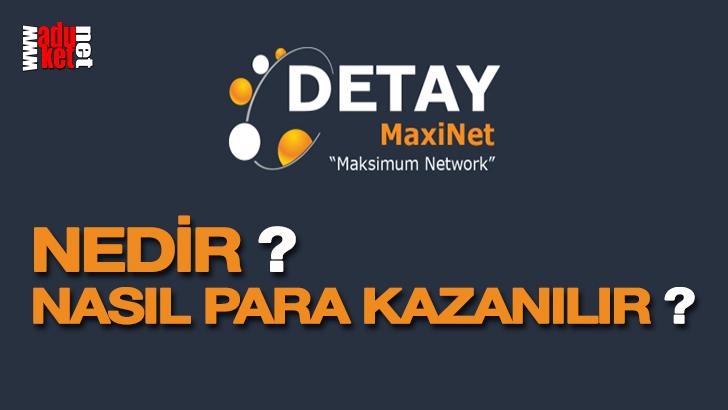 Detay Maxinet Nedir