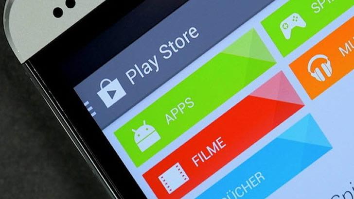 Google Play'den Bir Yenilik Daha