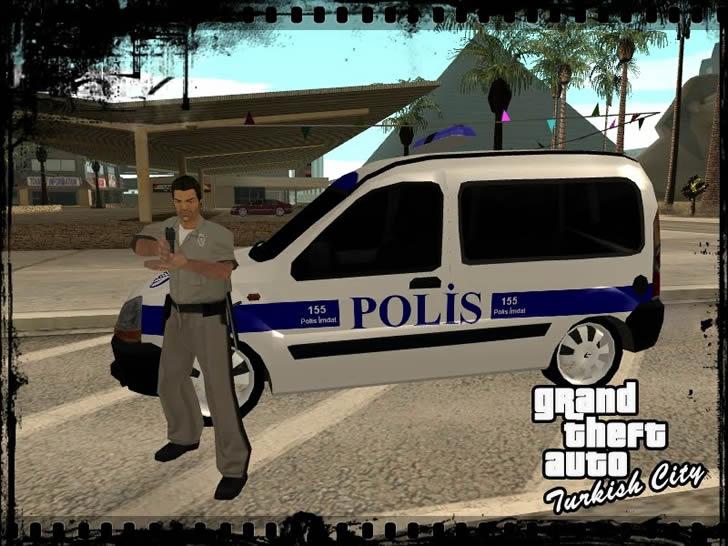 gta polis arabası