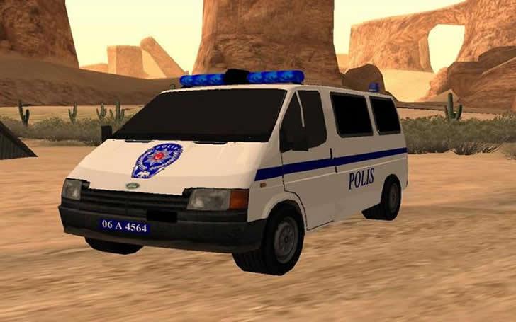 gta türk polis arabası