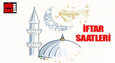 iftar saatleri 2017
