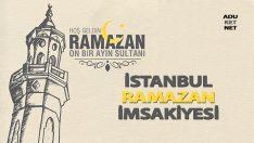 istanbul ramazan imsakiyesi