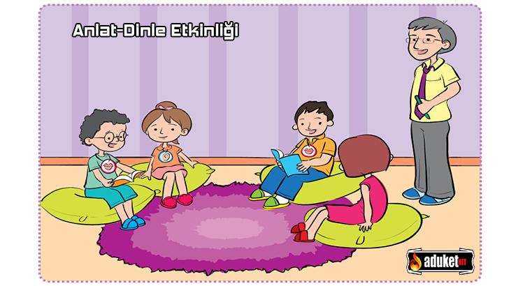 Okul Öncesi Anlat Dinle Etkinliği