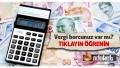 Borç Sorgulama Online Vergi Borcu Öğren