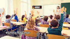 Sınıfta Oynanabilecek Oyunlar