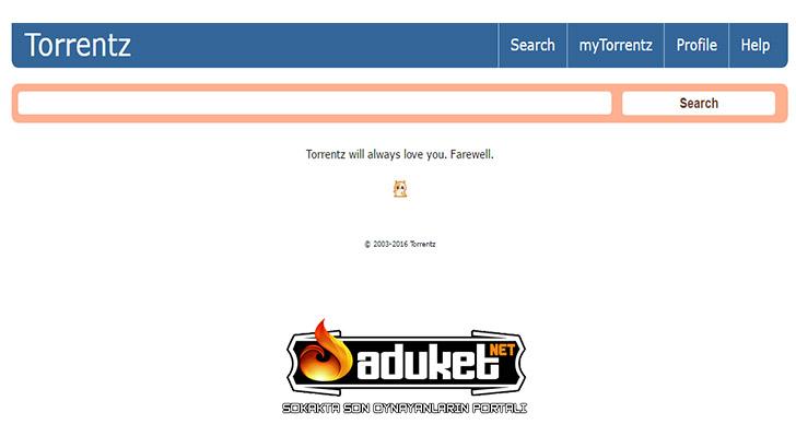 Dünyaca ünlü torrentz.eu sitesi kapandı