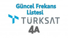 Turksat 4A frekans listesi, Kanalların yeni frekansı