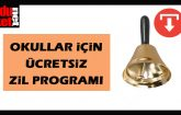 Ücretsiz Okul Zili Programı
