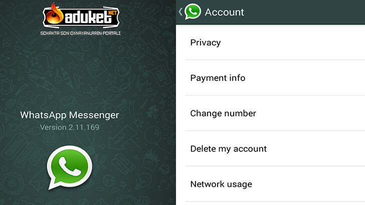 Whatsapp Facebook Bilgi Paylaşımını Kapatma