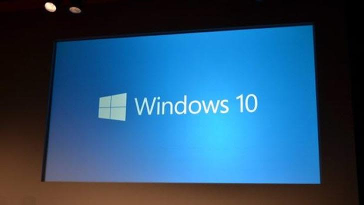 Sürpriz İsmiyle Huzurlarınızda Windows 10