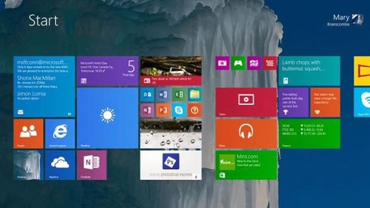 Windows 9 Çok Yakında Hizmete Giriyor