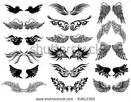 wings-tattoo-vector-set-2016