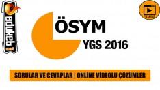 13 Mart 2016 YGS Soruları Cevapları indir